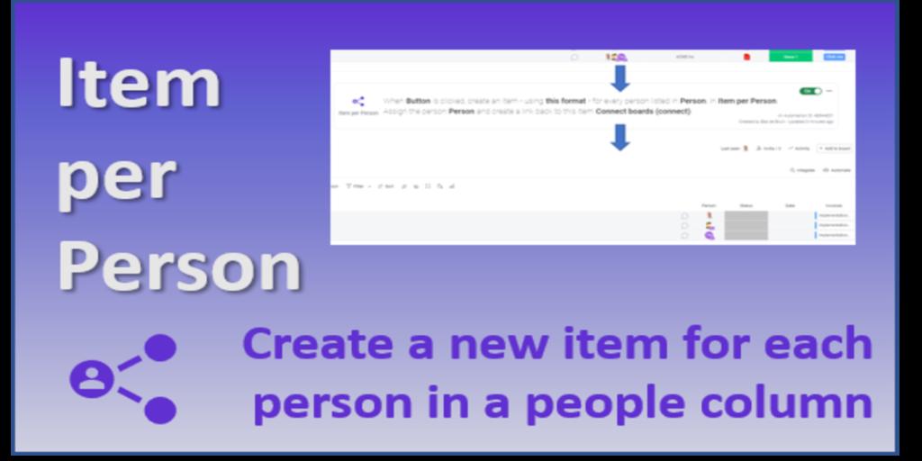 1 Item Per Person