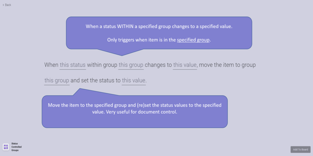 3 Status Controlled Groups